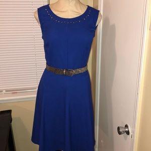 New York & Company Stretch Fit & Flare Dress